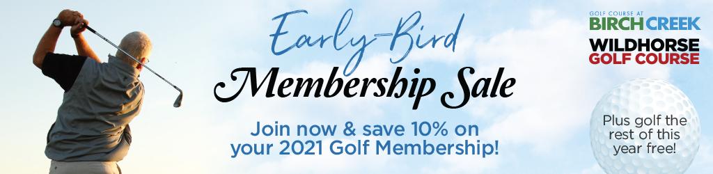 Golf Membership Drive