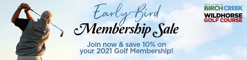 2021 Membership Sale