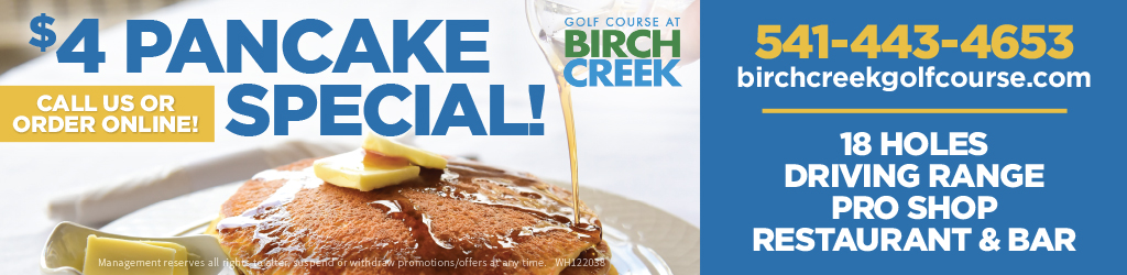 Birch Creek 4 Dollar Pancake Special
