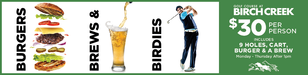Burgers Brews and Birdies GCBC