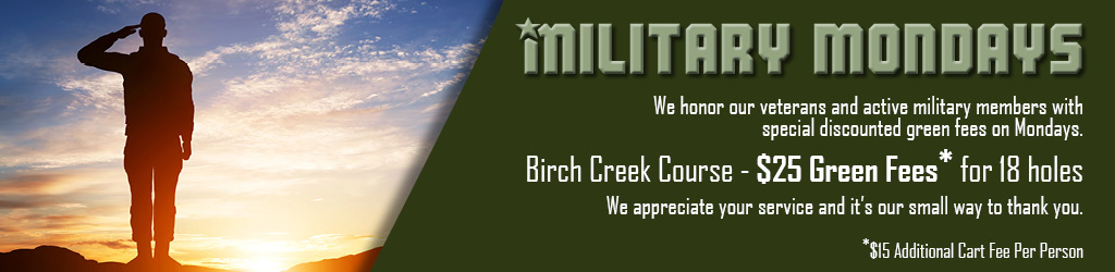 Military Mondays Golf - BC